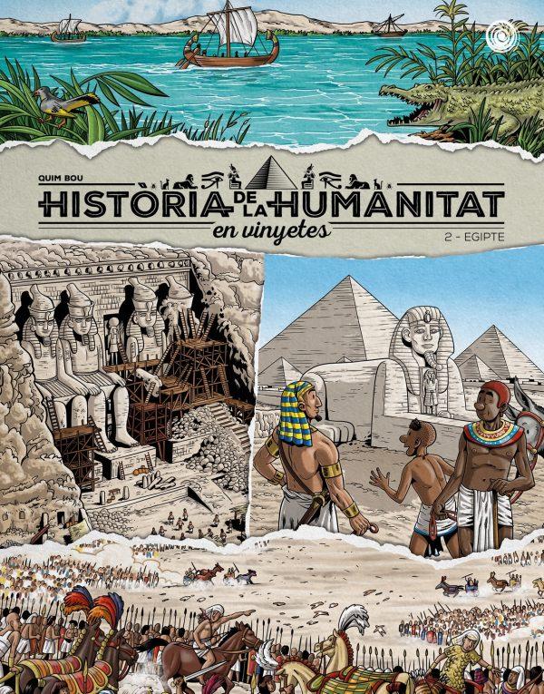 Història de la humanitat en vinyetes vol.2 Egipte